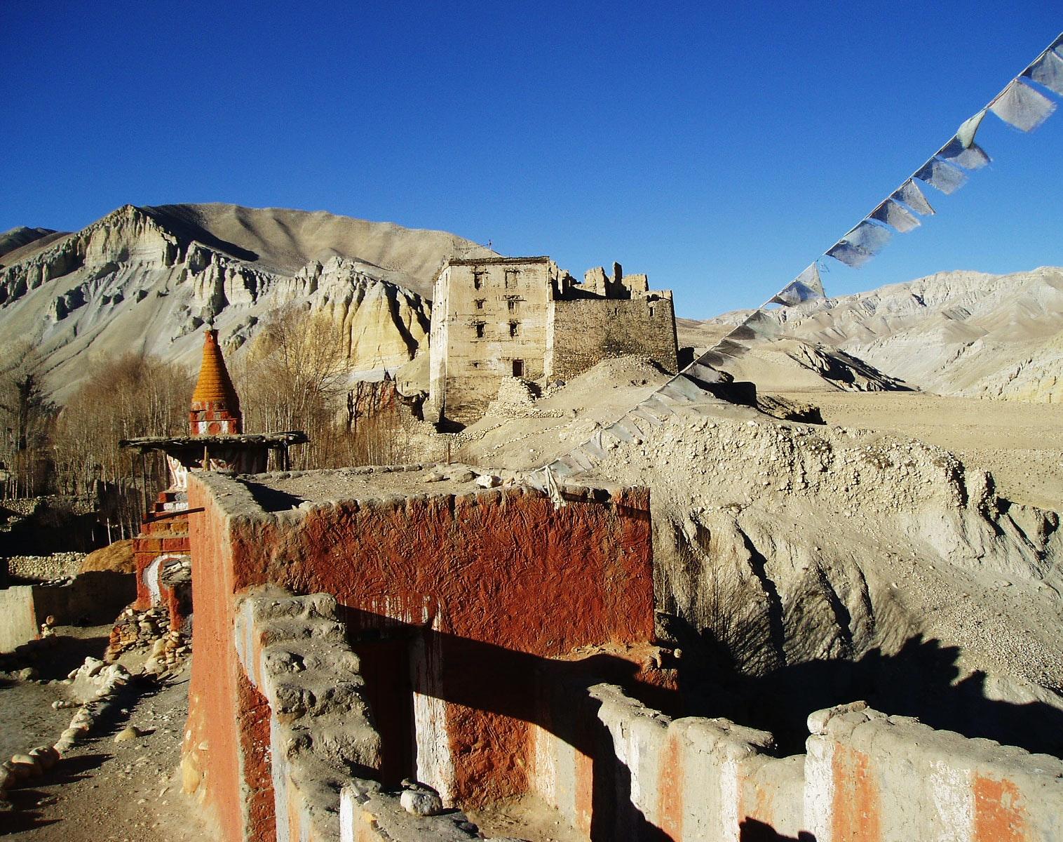 Karavaniers Trek Au Mustang Randonn E En Himalaya Et Lo Mantang